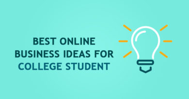 Best Online Business Ideas for College Student