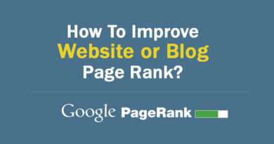 How To Improve Website Page Rank?