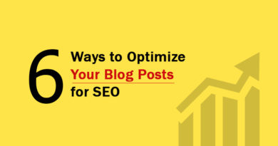 Optimize Your Blog Posts For SEO