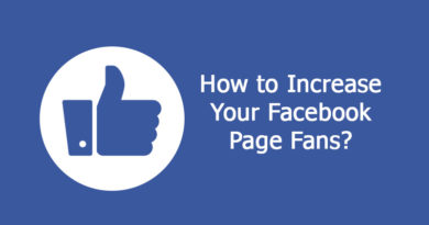 Increase Your Facebook Page Fans