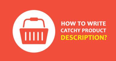 Write Catchy Product Description