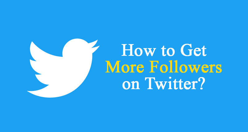 get more follower on twitter